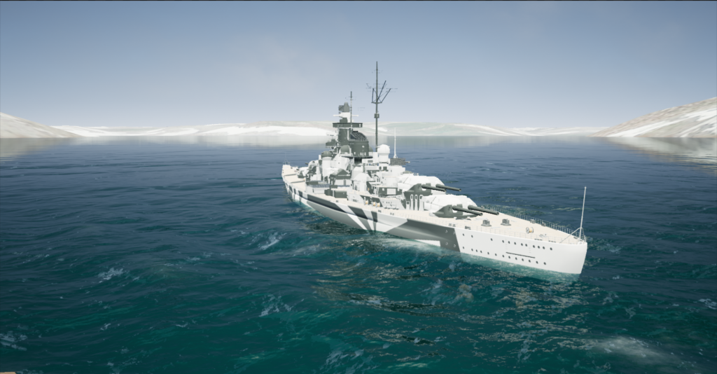 Tirpitz Entering AltaFjord September 9th 1942 1330