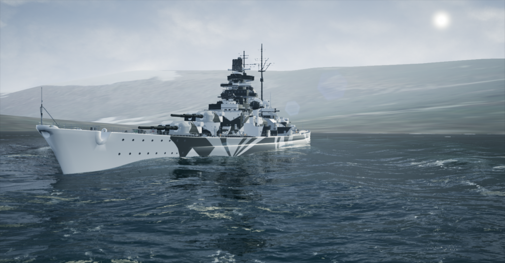 Tirpitz Kåfjord September 9th 1942 1710