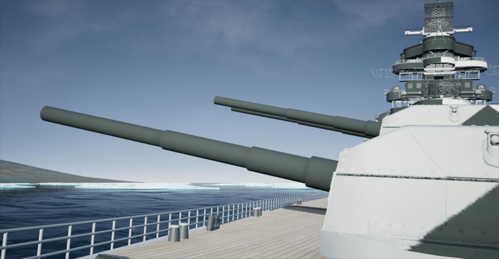 Tirpitz Spitzbergen Barentsburg FirstPerson 19420908 0700