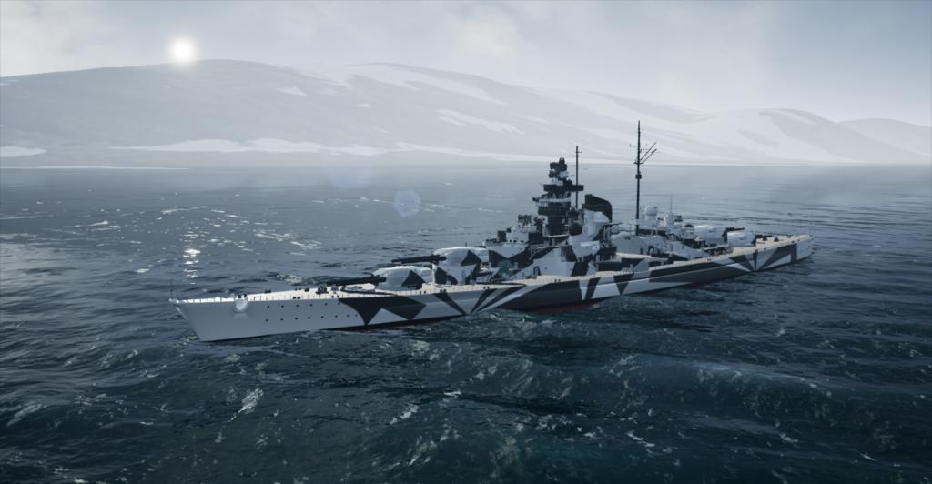 Tirpitz Spitzbergen Woodfjorden